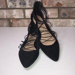 NWOT Jessica Simpson black flats size 7